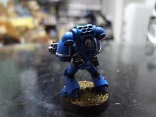5 Deathwatch tuer équipe torses et accessoires bits