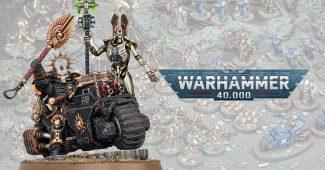 De nouveaux modèles Warhammer 40K dévoilés à temps pour le lancement d'Indomitus