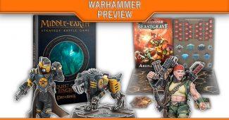 Nouveaux Warhammer Underworlds, Middle Earth, Necromunda et Warhammer 40kj bientôt en précommande