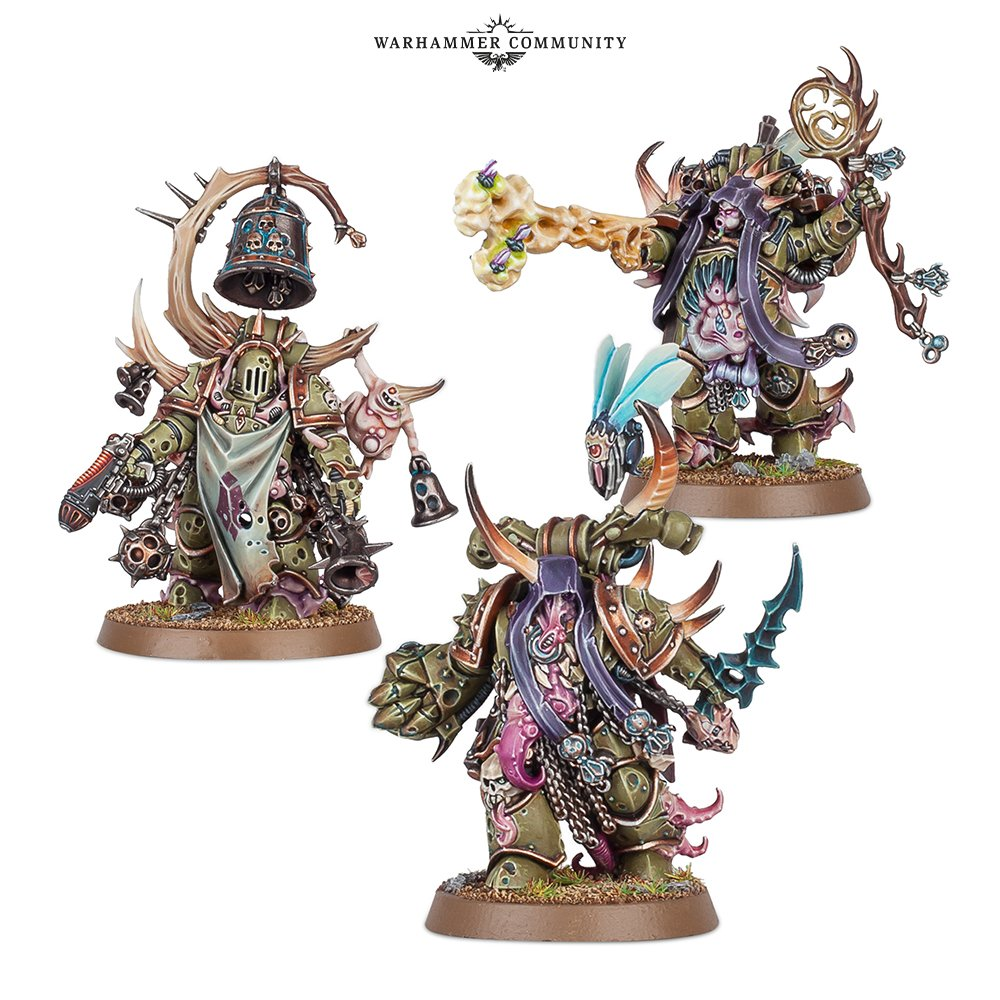 Grab The Death Guard Codex & New Warhammer 40K Miniatures – OnTableTop – Home of Beasts of War