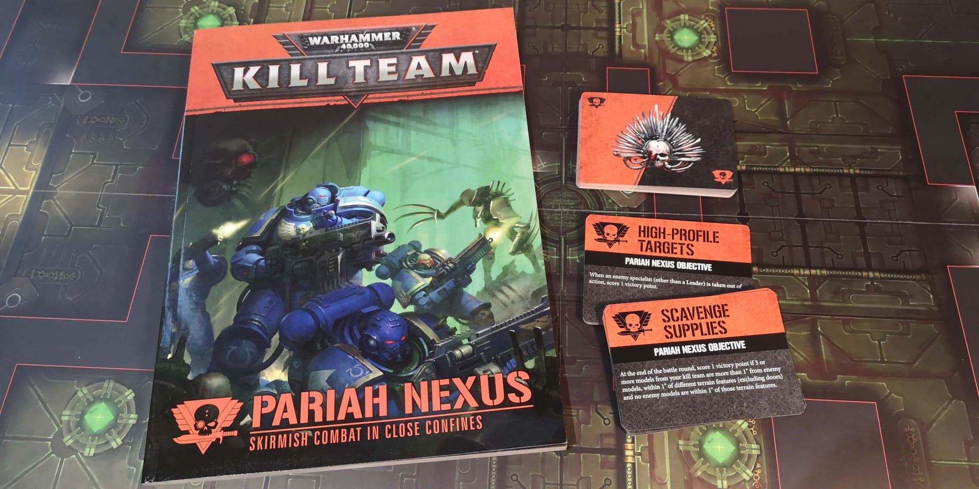 Aperçu de Kill Team Pariah Nexus