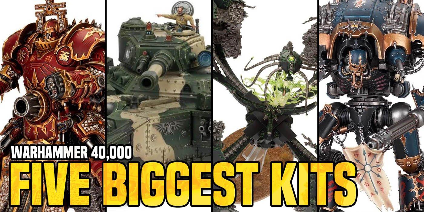 Warhammer 40K: 5 plus grands modèles de Games Workshop